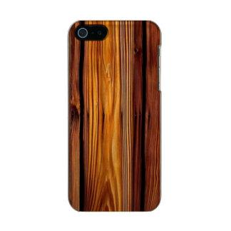 Barn Wood iPhone SE/5/5S Incipio Shine Case