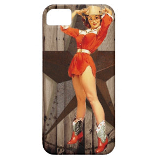 Barn wood Lone Star western country Cowgirl iPhone 5 Cover