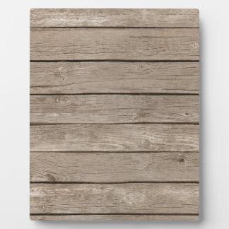 Barn Wood Panels Plaque