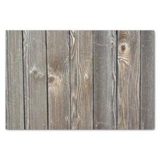 Barn Wood Tissue Paper