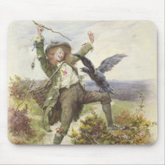 Barnaby Rudge and the Raven Grip Mouse Mat