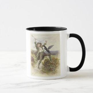 Barnaby Rudge and the Raven Grip Mug