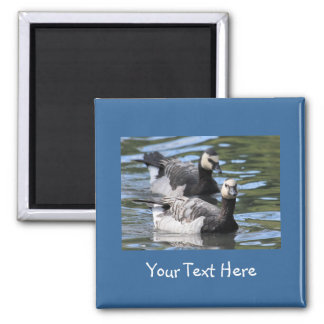 Barnacle Duet Square Magnet
