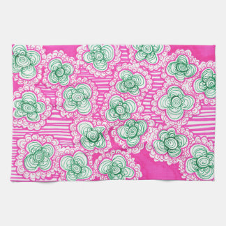 Barnacles and Brussel Sprouts Tea Towel