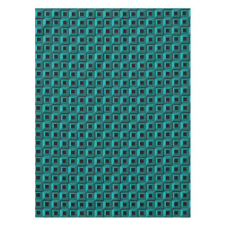 Barnacles in Turquoise Tablecloth