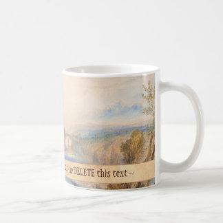 Barnard Castle Joseph Mallord William Turner Basic White Mug