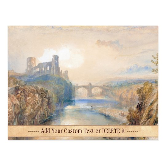 Barnard Castle Joseph Mallord William Turner Postcard