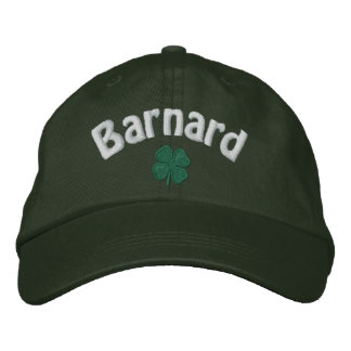 Barnard - Four Leaf Clover - Customized Embroidered Hat