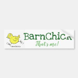 BarnChick that's me! Bumper Sticker