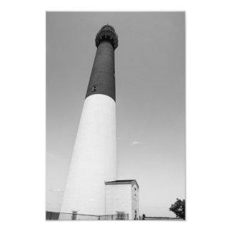 Barnegat Lighthouse B&W Art Photo