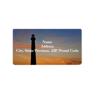 Barnegat Lighthouse IV Label Address Label