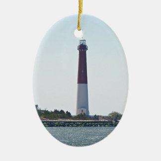Barnegat Lighthouse (Old Barney) LBI Ornament