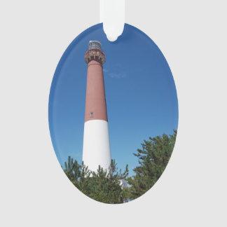 Barnegat Lighthouse Old Barney Ornament