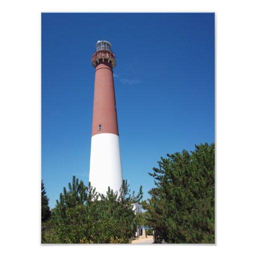 "Barnegat Lighthouse ""Old Barney"" Photo Art"