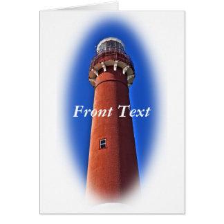 Barnegat Lighthouse Vignette Card