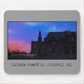 Barnes hospital Cheadle, UK. Mouse Mat