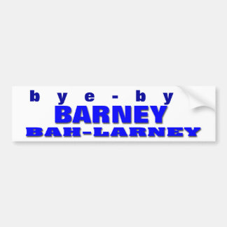 Barney Frank Bumper Sticker