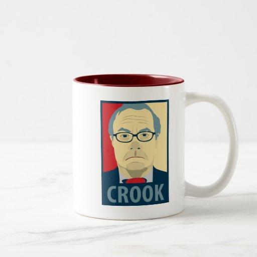 Barney Frank Hope Crook Coffee Mug