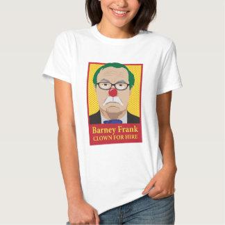 Barney Frank is a Clown T Shirts