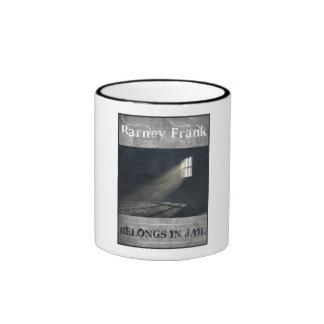 Barney Frank Ringer Mug