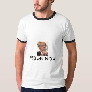 BARNEY FRANK RESIGN NOW T-Shirt