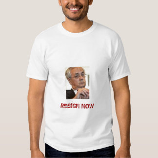 BARNEY FRANK, RESIGN NOW T SHIRTS