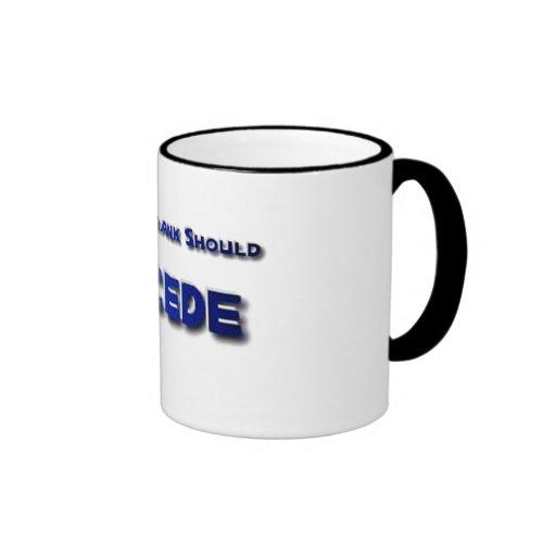 Barney Frank Secede Coffee Mug