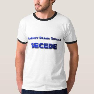 Barney Frank Secede T-Shirt