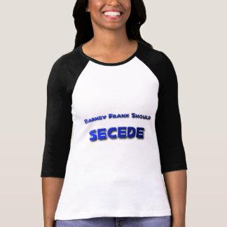 Barney Frank Secede T Shirts