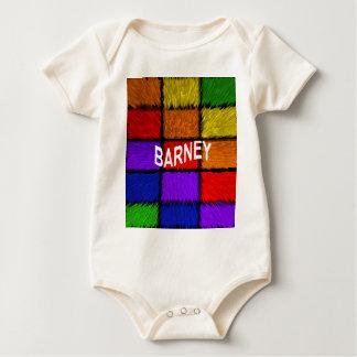 BARNEY (male names ) Baby Bodysuit