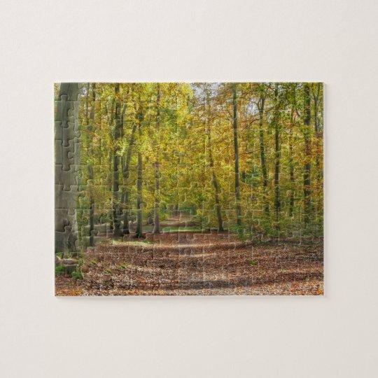 Barnimer Land Wald Jigsaw Puzzle