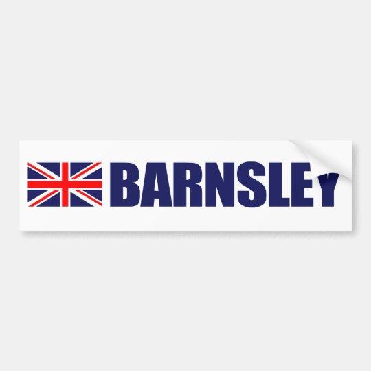 Barnsley, British Flag Bumper Sticker