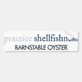 Barnstable Oyster Bumper Sticker