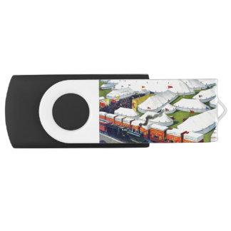 Barnum and Bailey Circus 1899 USB Swivel Drives Swivel USB 2.0 Flash Drive