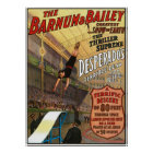 Barnum and Bailey Desperado's Leap for Life Poster