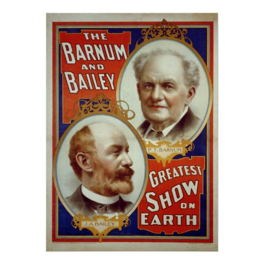Barnum and Bailey Print or Poster
