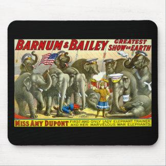 Barnum & Bailey - Elephants Mouse Pad