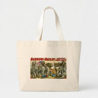 Barnum & Bailey - Elephants - Vintage Ad Bag