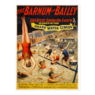 Barnum Bailey Greatest Show on Earth Post Cards