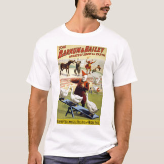 Barnum & Bailey - Wonderful Performing Geese T-Shirt