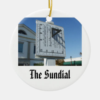 barnwell-sundial, The SundialBarnwell, SC Christmas Ornament