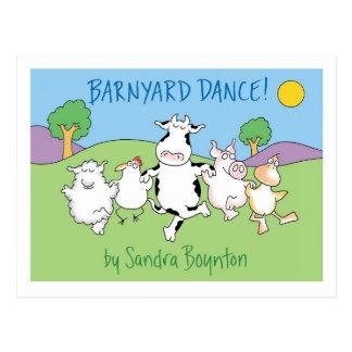 BARNYARD DANCE! postcard by Sandra Boynton