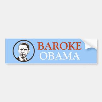 Baroke Obama Bumper Sticker