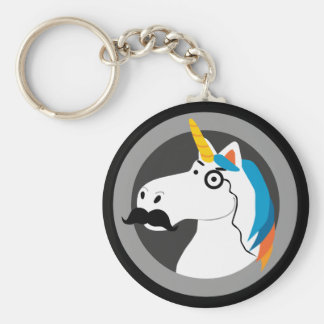 Baron Cornelius Basic Round Button Key Ring