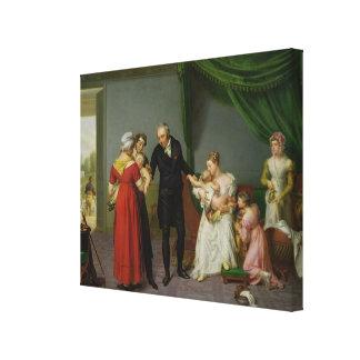 Baron Jean Louis Alibert Canvas Prints