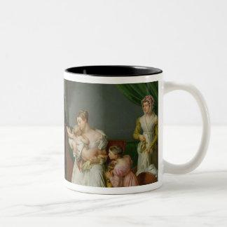 Baron Jean Louis Alibert Two-Tone Coffee Mug