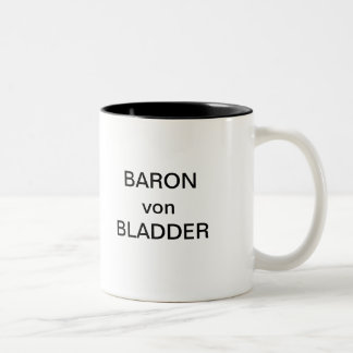 BARON von BLADDER Two-Tone Coffee Mug