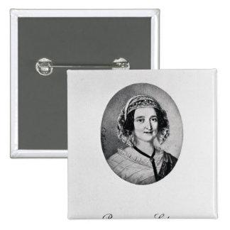 Baroness Louise Lehzen 15 Cm Square Badge