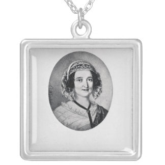 Baroness Louise Lehzen Silver Plated Necklace