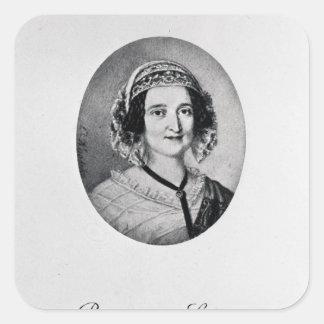 Baroness Louise Lehzen Square Sticker